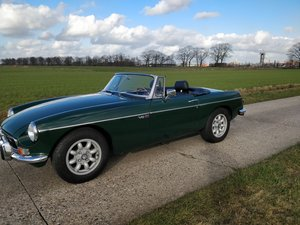 1973 MG B  V8 roadster  LHD