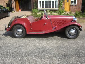 1953 MG TD Reluctant sale