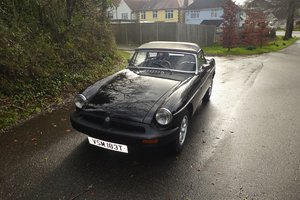 MG B Roadster 1979 - To be auctioned 24-04-20
