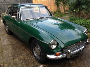 MG B GT 1968 - to be auctioned 26-06-20