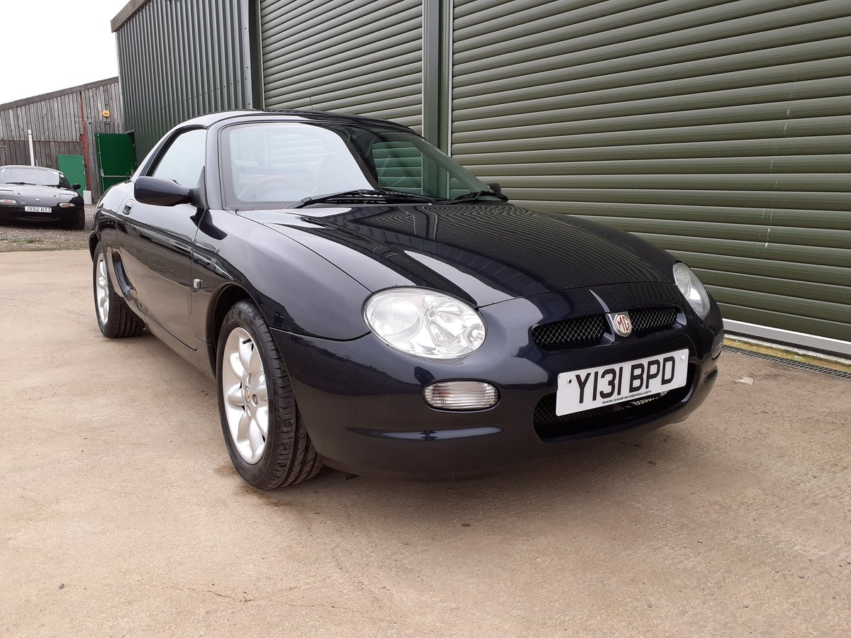 2001 MGF 1.8 ltr Sports Very Low Mileage SOLD (picture 1 of 6)