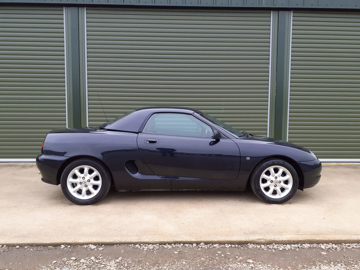 2001 MGF 1.8 ltr Sports Very Low Mileage SOLD (picture 3 of 6)