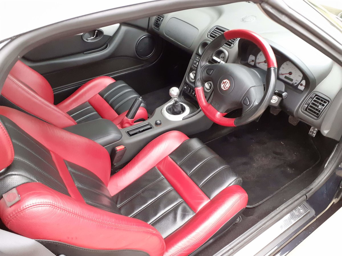 2001 MGF 1.8 ltr Sports Very Low Mileage SOLD (picture 4 of 6)