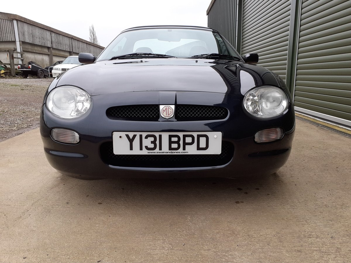 2001 MGF 1.8 ltr Sports Very Low Mileage SOLD (picture 5 of 6)