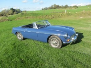MGB ROADSTER SERIES ! 1968