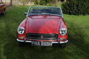 1969 MG MIDGET - 1 FAMILY OWNER 43 YEARS, 28K MILES! For Sale