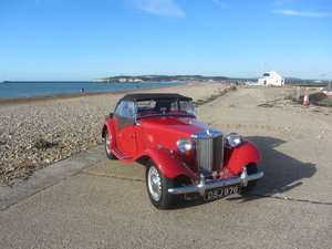 1951 MG TD 1959 5 Speed For Sale