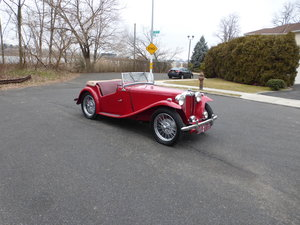 1950 MGTC With Supercharger Frame Off Restored -