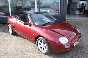 2001 MGF AUTO,LOW MILEAGE,FSH,GREAT CONDITION,NEW HEADAGSKET For Sale