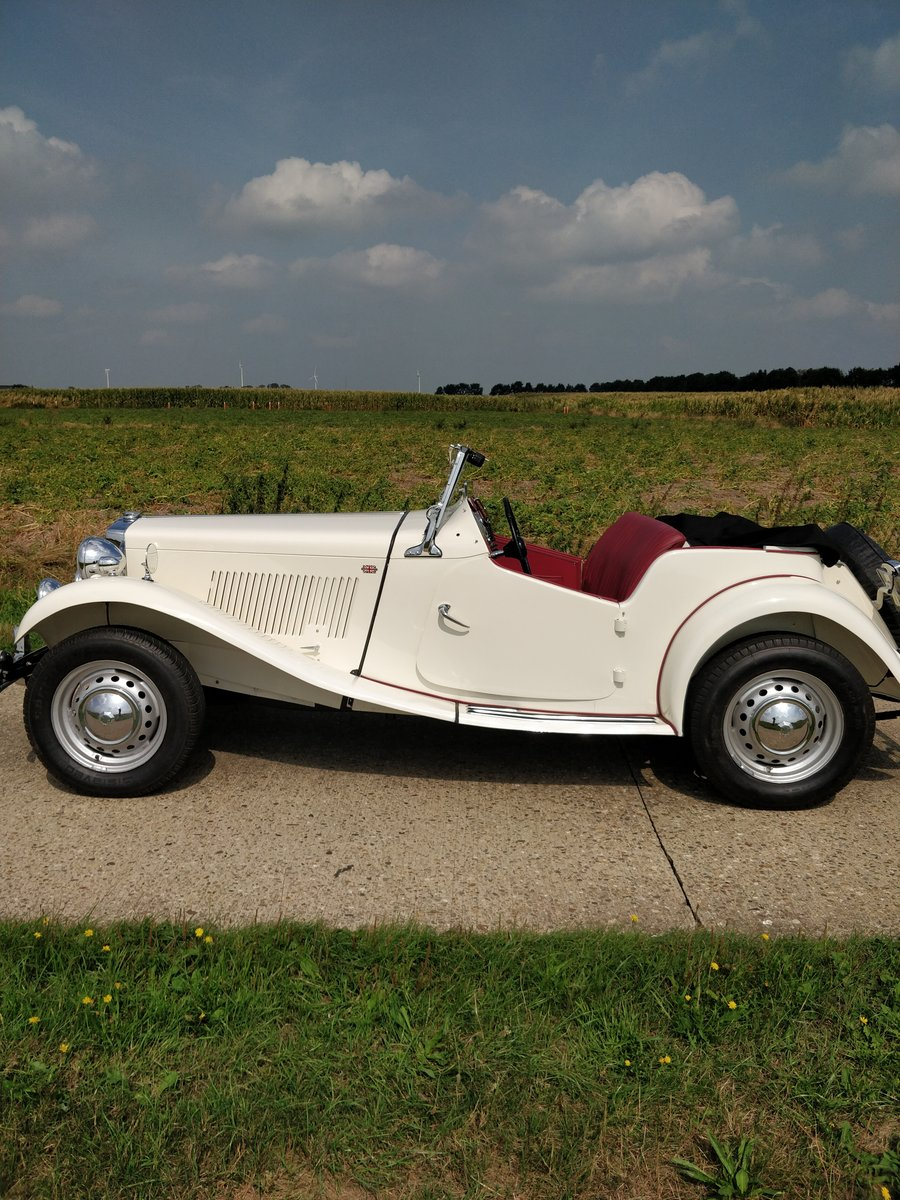 1953 MG TD '53  LHD For Sale (picture 1 of 6)