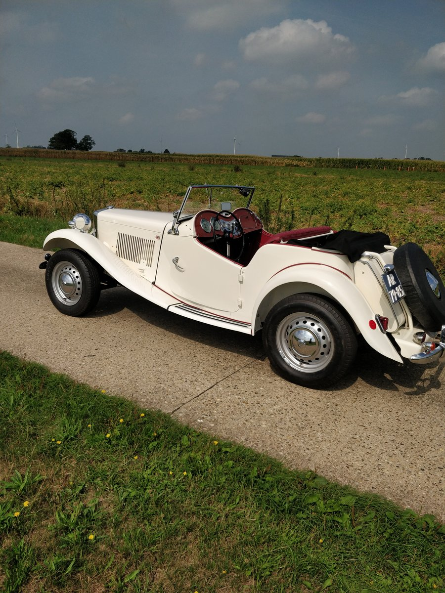 1953 MG TD '53  LHD For Sale (picture 2 of 6)