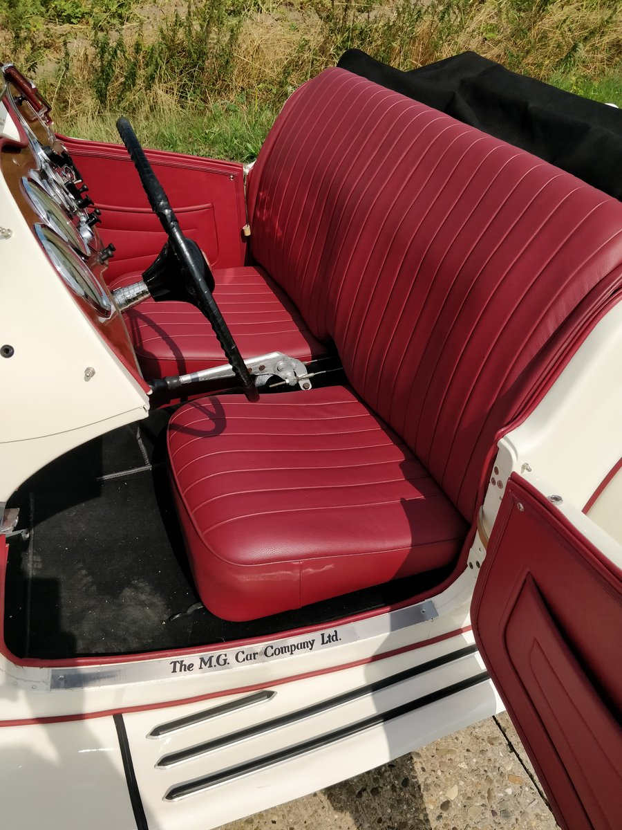 1953 MG TD '53  LHD For Sale (picture 6 of 6)