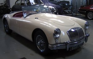 1958 MGA in perfect condition
