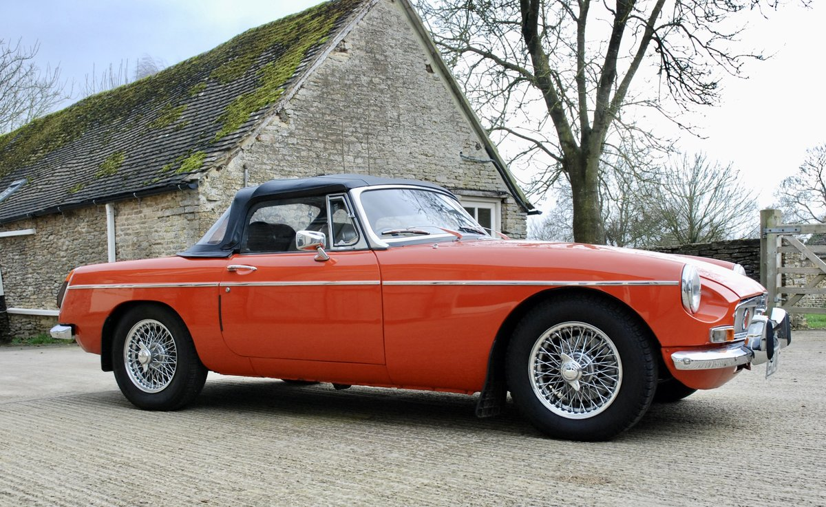 1972 MG-B Roadster  For Sale (picture 1 of 6)