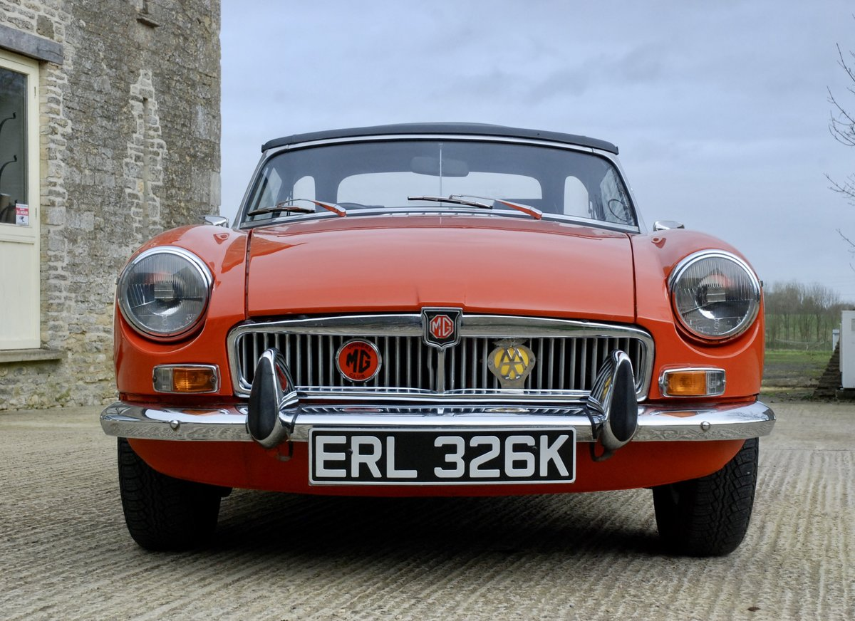 1972 MG-B Roadster  For Sale (picture 2 of 6)