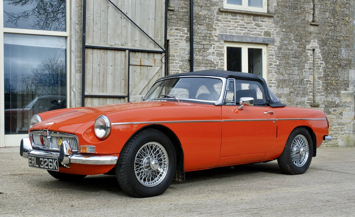 1972 MG-B Roadster  For Sale (picture 3 of 6)