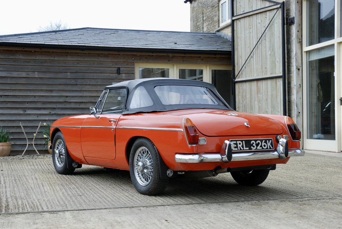 1972 MG-B Roadster  For Sale (picture 4 of 6)