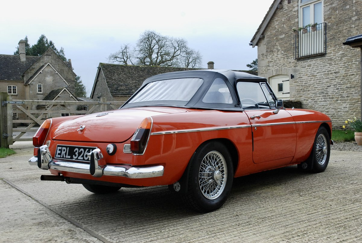 1972 MG-B Roadster  For Sale (picture 5 of 6)