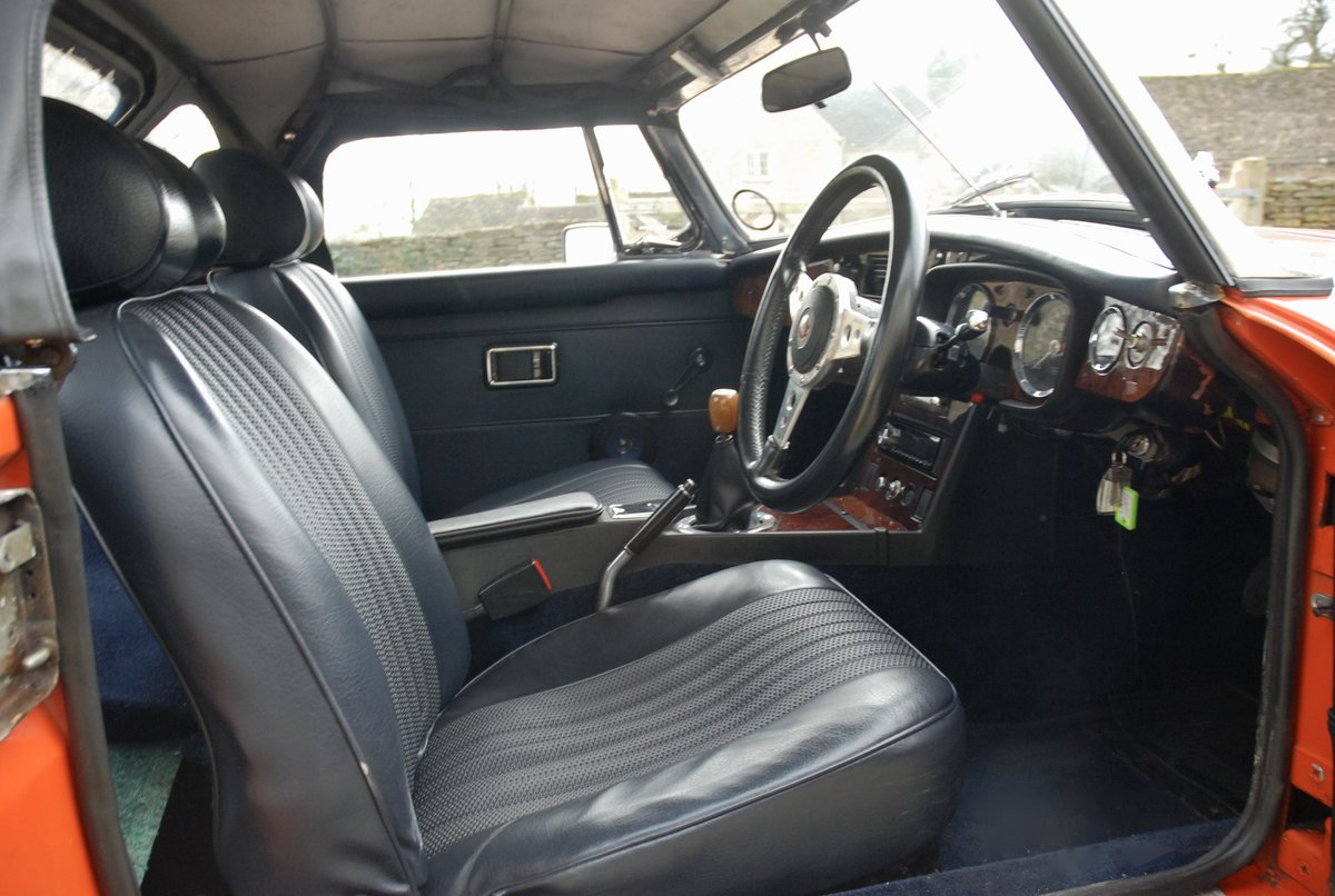 1972 MG-B Roadster  For Sale (picture 6 of 6)