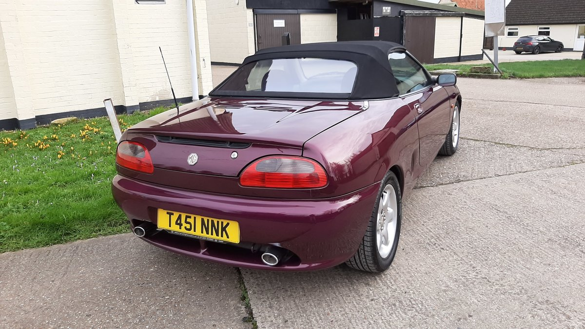 1999 MGF 1.8, Rare Morello Red ,Low mileage. For Sale (picture 3 of 5)