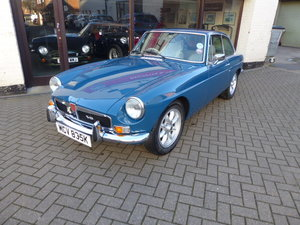 1973 MGB GT V8, Genuine C/B Factory V8