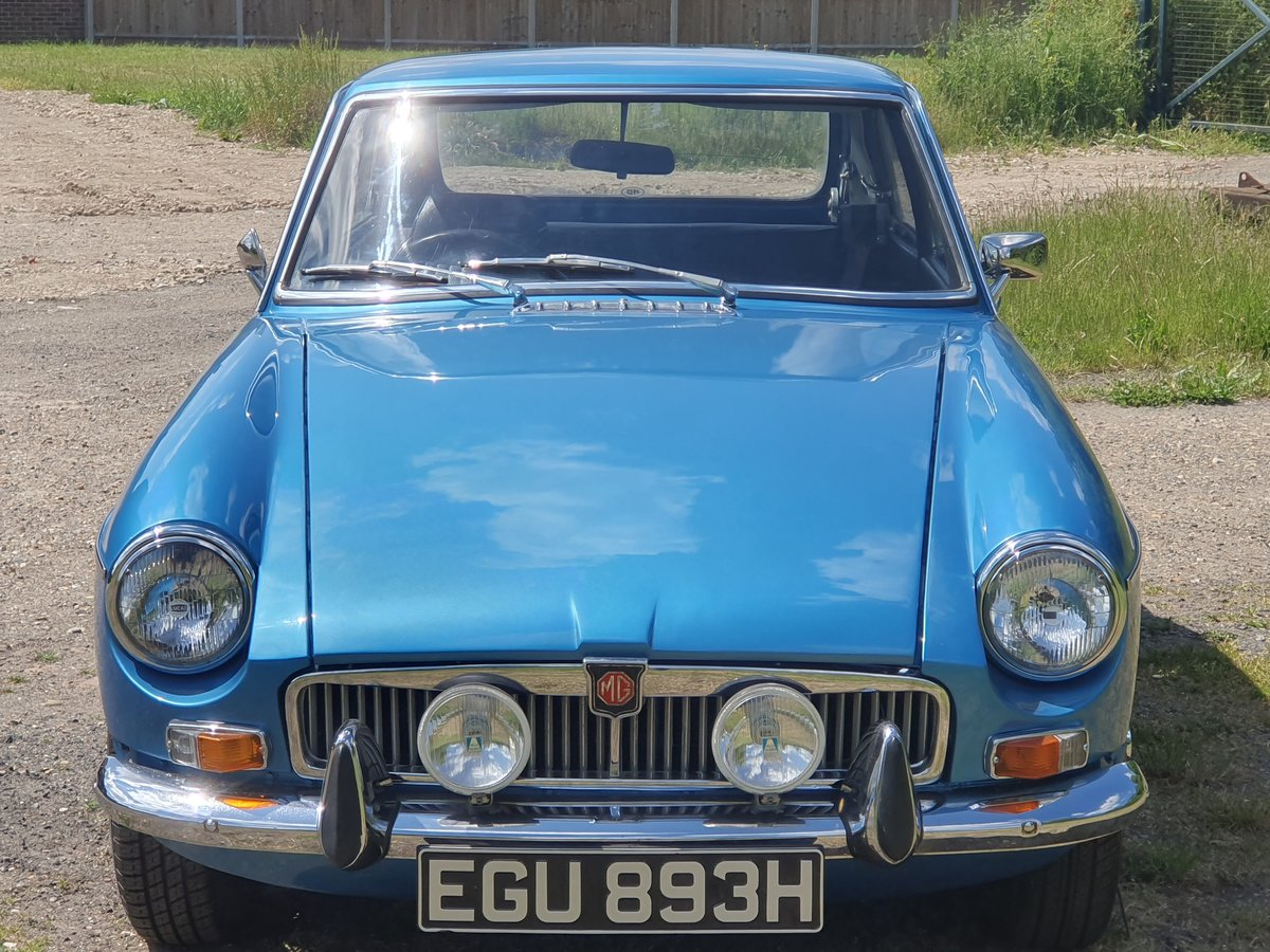 MG B GT, 1970, Riviera Blue, Automatic For Sale (picture 3 of 6)