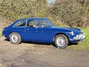 MG B GT Mk1, 1967, Blue Royal For Sale