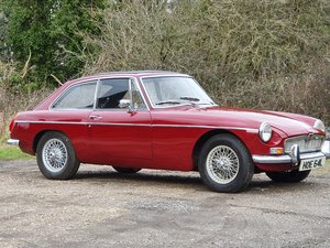 MG B GT, 1973, Damask Red For Sale