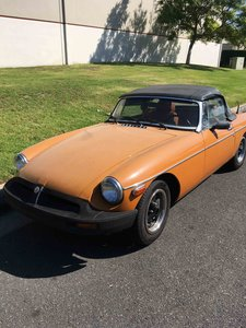 1975 MGB Convertible Roadster Clean Driver British Rockstar For Sale