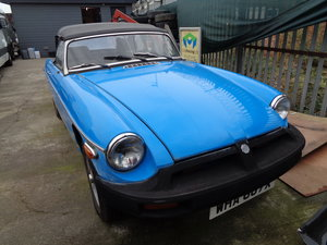 Mgb roadster | lhd | 2 owners | 1981 model
