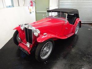 1949 MG TC - Fully restored