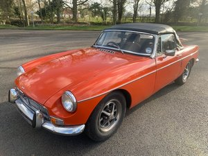 **REMAINS AVAILABLE** 1972 MG B Roadster SOLD by Auction