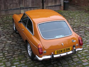 1974 Stunning mgb gt For Sale