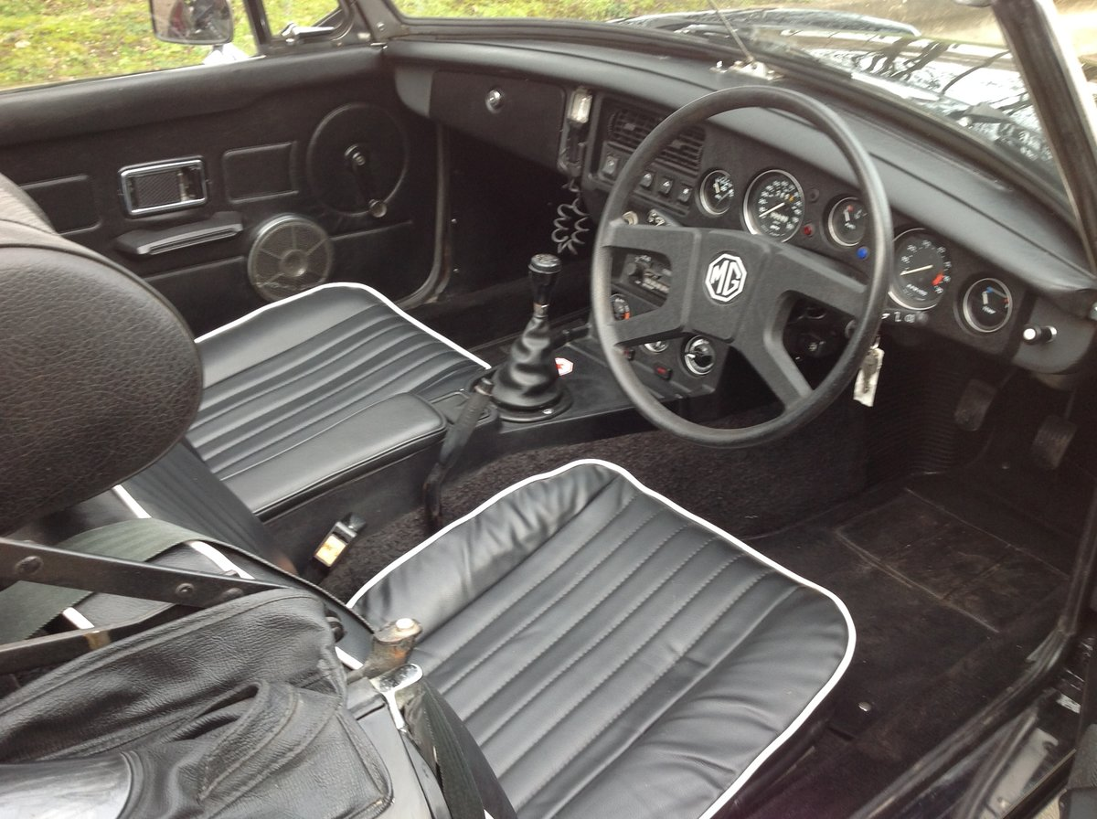 1978 MGB Roadster For Sale (picture 4 of 5)