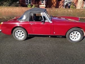 Mg Midget 1974 to be auctioned  For Sale by Auction