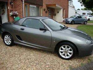 2003 MGTF, Low mileage 2 Lady owner car