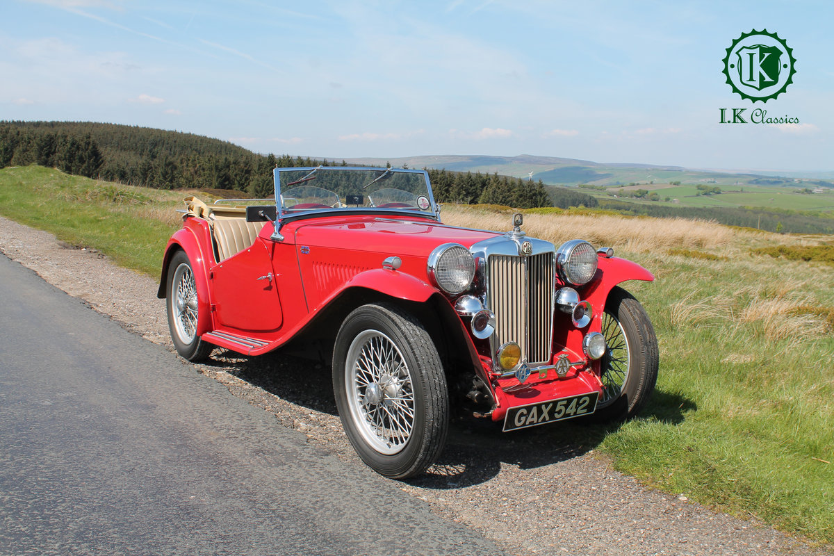 1947 MG TC NOW SOLD For Sale (picture 1 of 10)