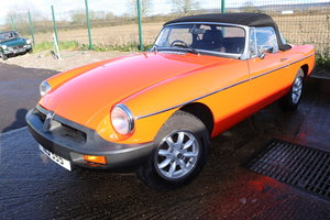 1983 MGB Roadster, GENUINE 9000 Miles from new For Sale