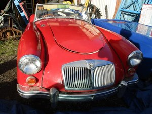 1959 MG A ROADSTER GOOD CONDITION