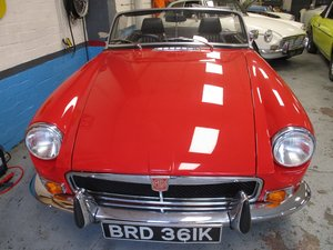 1972 MG B ROADSTER GOOD CONDITION