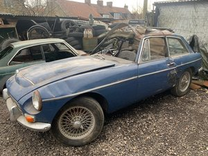 1968 MGC with shell *FOR SPARES* SOLD by Auction