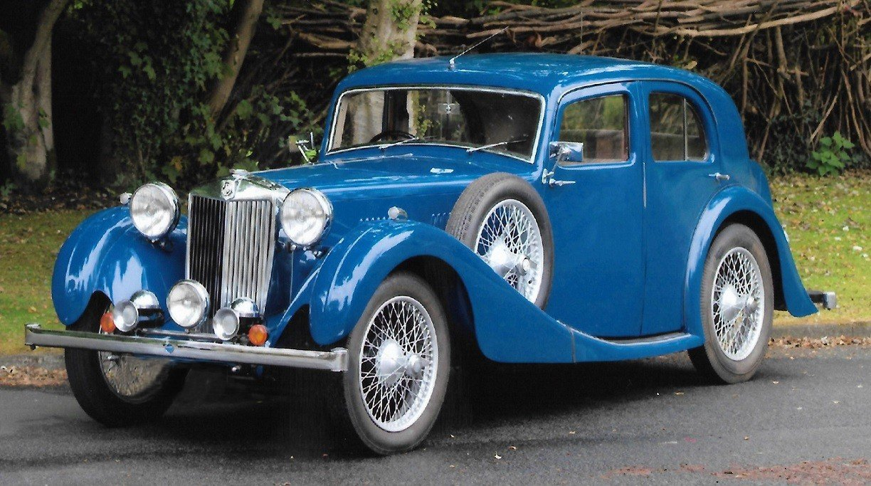 1937 MG VA SALOON For Sale (picture 1 of 6)