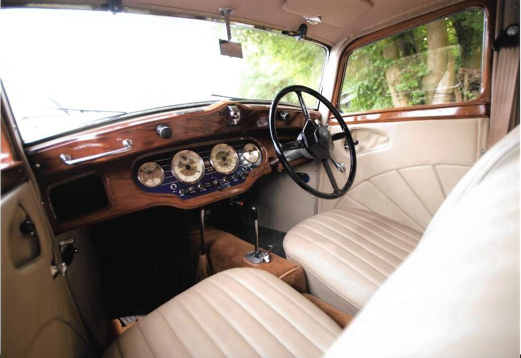 1937 MG VA SALOON For Sale (picture 2 of 6)