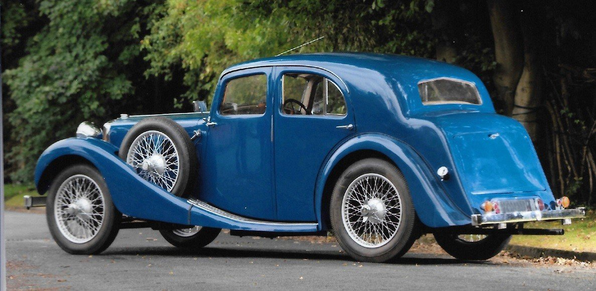 1937 MG VA SALOON For Sale (picture 3 of 6)