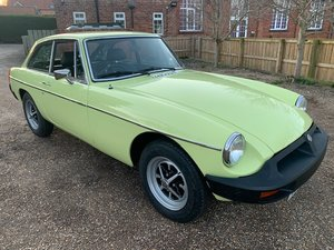 1977 MG BGT SOLD by Auction