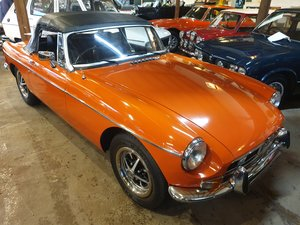 1973 MG B Coupe SOLD by Auction