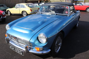 1968 MGC Roadster, previous show car, Detailed rebuild For Sale