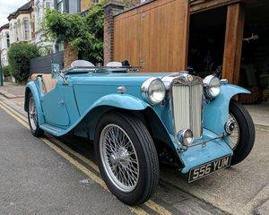 1964 1947 MG TC Clipper Blue