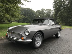 Picture of 1970 MGB Roadster 3.5 V8 full rebuild on new bodyshell For Sale