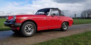 MG Midget 1500  '75 lhd